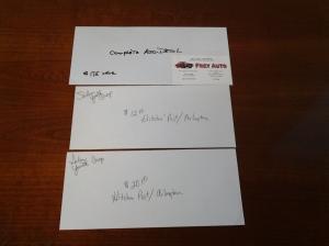Gift certificatesFrey Auto/Hitchin Post