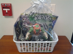 Gift package - ninja turtle