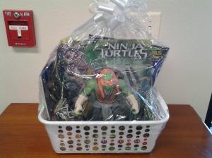 Gift package - ninja turtle