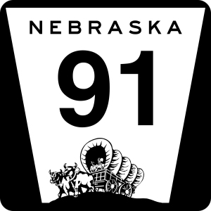 Nebraska_state_highway_marker 91