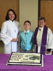first communion michael gerber